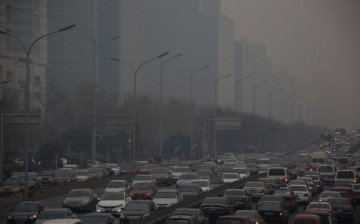 One of China's problems is road congestion and loosely implemented traffic regulations.