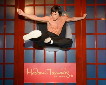 Madame Tussauds Hollywood Unveils New Bruce Lee Figure Alongside The Legend's Daughter Shannon Lee, And The Bruce Lee Foundation