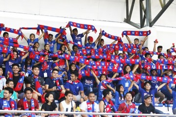 Davao Aguilas Football Club (DAFC) attracts a crowd of 4,384 in its first home game at the Davao del Norte Sports Complex in Tagum, Davao del Norte, Philippines.