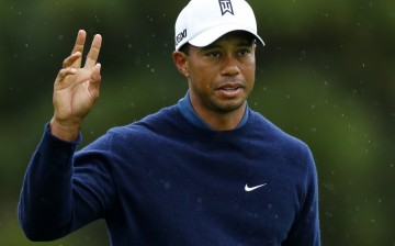 Tiger Woods was six shots back of the leader after the first round of the 2013 Honda Classic.