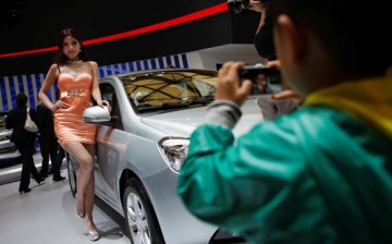 Models posing beside cars will no longer be seen at the Shanghai International Automobile Industry Exhibition.