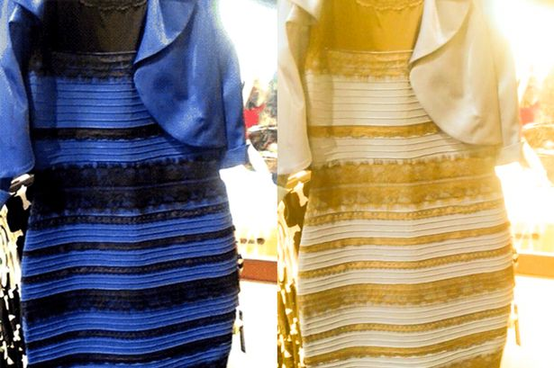 Yellow and gold dress controversy
