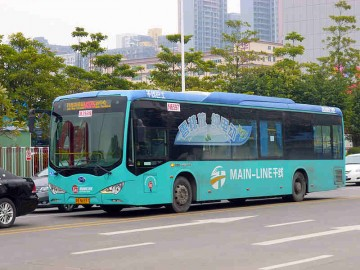 BYD e-buses are seen as environmental-friendly solutions to pollution issues in the transport industry.
