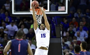 Jahlil Okafor was taken by the Philadelphia 76ers as the No.3 overall pick in the draft.