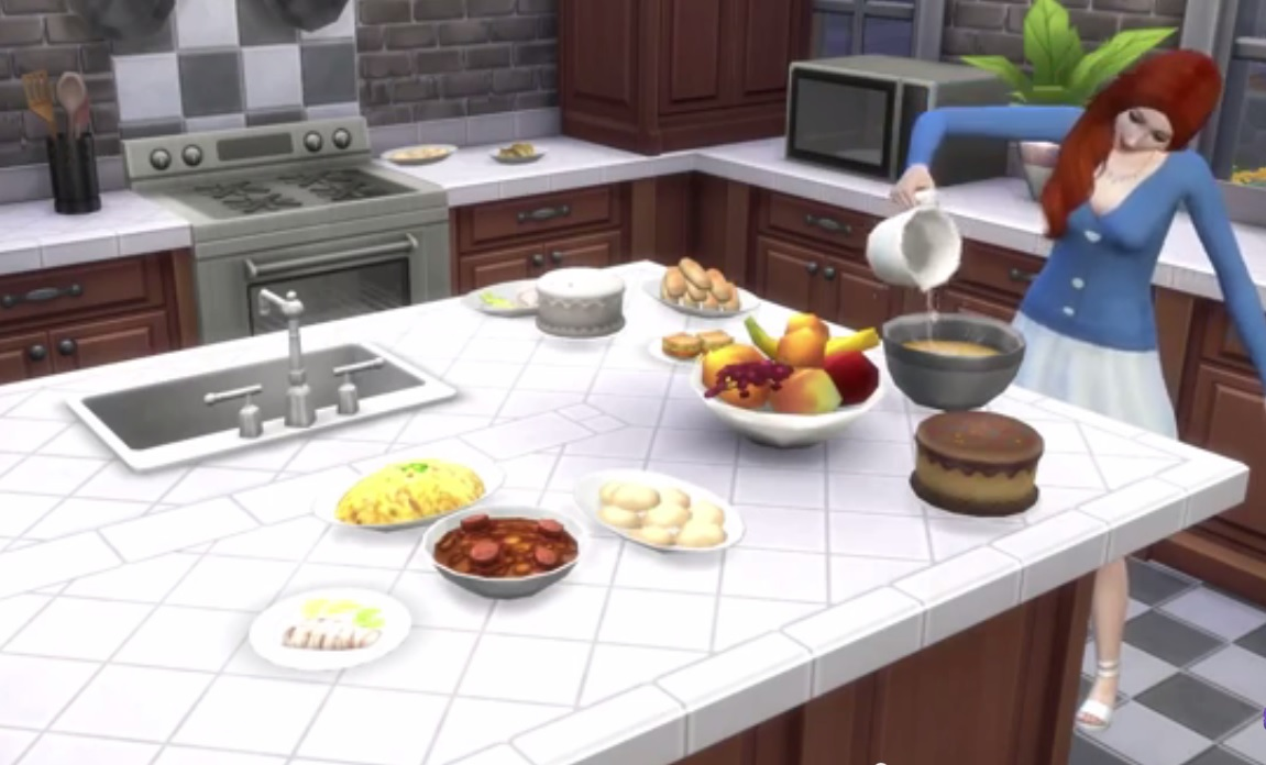 The Sims 4 Gets Cool Kitchen Stuff In August New Mod