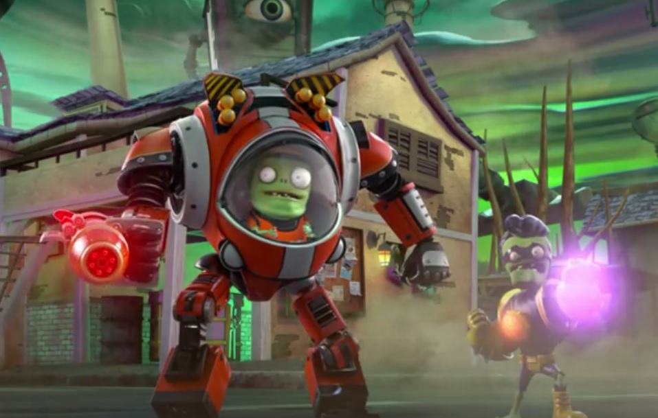 Plants Vs Zombie Garden Warfare 2 Update New Figures Revea