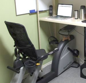 Stationary Bike Computer Desk Bicycling And The Best