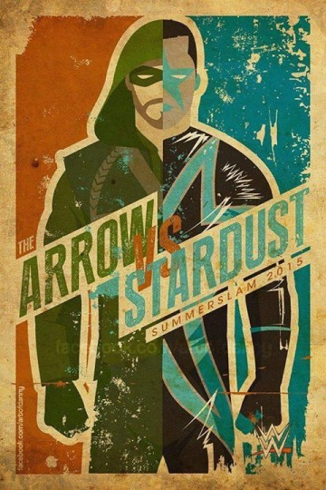 Stardust (Cody Rhodes) and Arrow (Stephen Amell) will battle it out at the