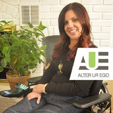 Heidi McKenzie is the founder of Alter UR Ego which aims to provide adaptable jeans for people in wheelchairs.