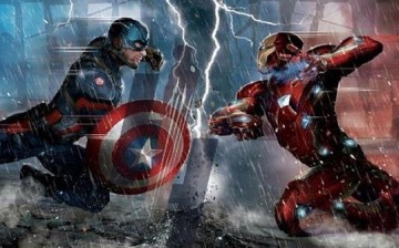 Captain America and Iron clash in Joe Russo and Anthony Russo's
