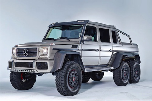 Mercedes benz g63 amg luxury 6 6 suv specs and information for The biggest mercedes benz