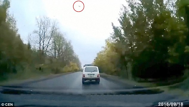 UFO Sighting Causes Car Crash In Russia