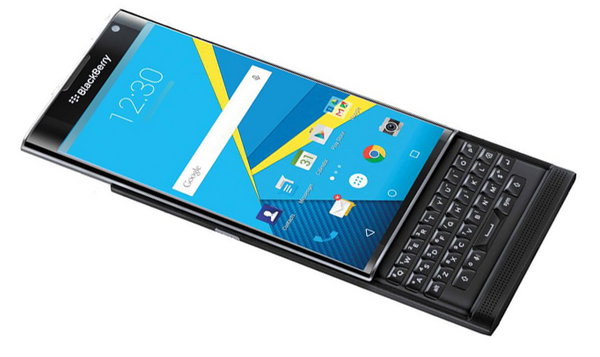 Blackberry To Launch First Android Powered Priv Phone Tech