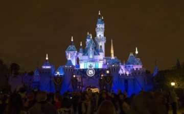 The premiere of fireworks show ''Remember Dreams Come True'' above the Sleeping Beauty Castle was shown during Disneyland's 50th anniversary.