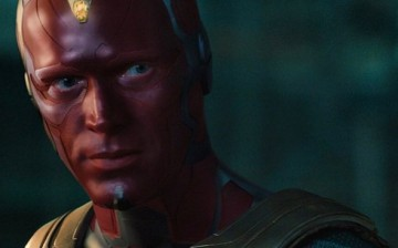 Paul Bettany is the Vision in Joe Russo and Anthony Russo's