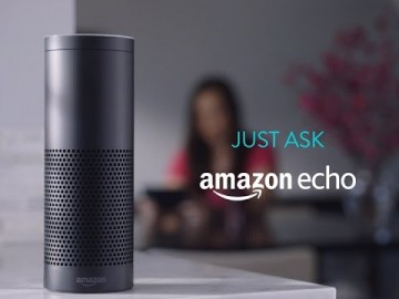 Developed by Amazon.com, Amazon Echo is a smart speaker that connects to the voice-controlled intelligent personal assistant service Alexa.