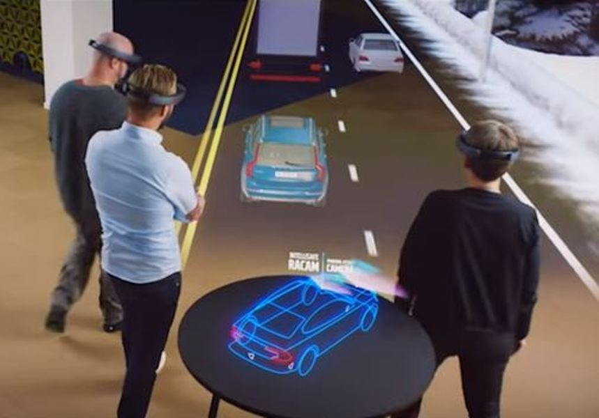 Microsoft Volvo Team Up To Sell Cars Using Holograms Tech