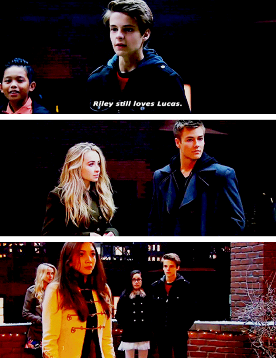 Girl meets world riley and lucas