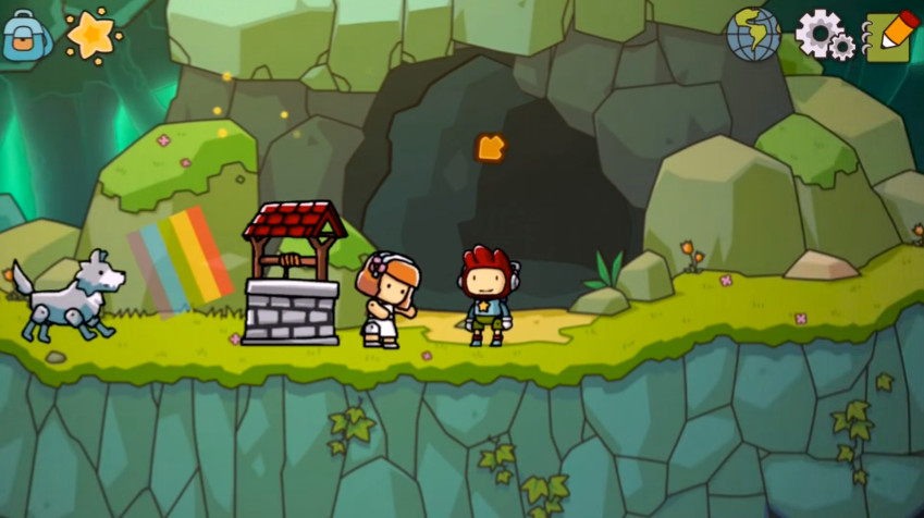 Scribblenauts Unlimited' Puzzler Arrives On iOS A