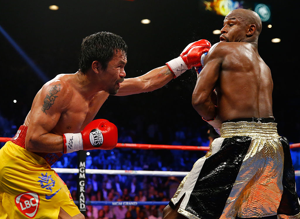 Mayweather says he\'d beat GGG, and Pacquiao -- again : Spo
