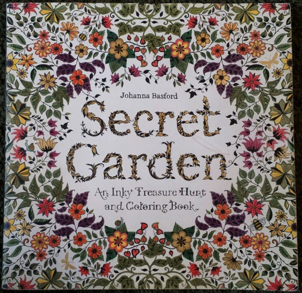 Johanna Basfords Secret Garden Coloring Bo