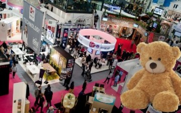 About 2,800 exhibitors from around the world participated in the recent Hong Kong Toys and Games Fair hed at the city's Convention and Exhibition Centre.