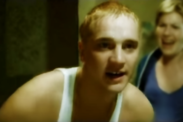 Devon Sawa played the title role in the music video of Eminem's