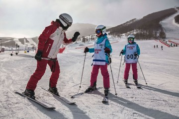 Skiing is gaining popularity in Northern China and this trend is coinciding with China's preparation for the 2022 Winter Olympic Games.