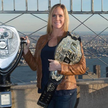 UFC Women's Bantamweight Champion Holly Holm has no sympathy for Ronda Rousey's suicidal thoughts.