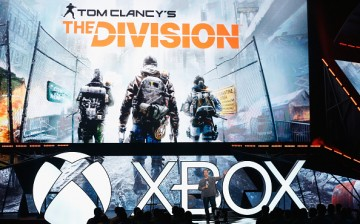Ubisoft North America President Laurent Detoc introduces 'Tom Clancy's The Division' during the Microsoft Xbox E3 press conference at the Galen Center on June 15, 2015 in Los Angeles, California.