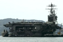 USS John C. Stennis, which now patrols Asia.