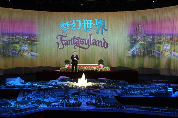Walt Disney Company CEO Robert A. Iger attends the opening ceremony of six themed parks of Shanghai Disney Resort at Shanghai Expo Center on July 15, 2015 in Shanghai, China.