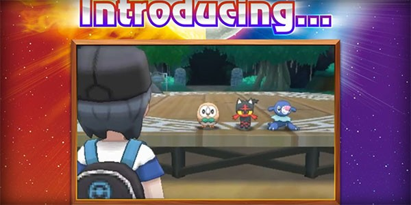"Nintendo has introduced ""Pokemon Sun and Moon's"" protagonist to the new three starter Pokemons for the game."