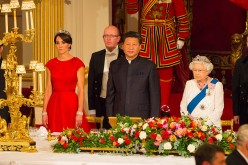 President Xi Jinping visited the United Kingdom in Oct. 2015.