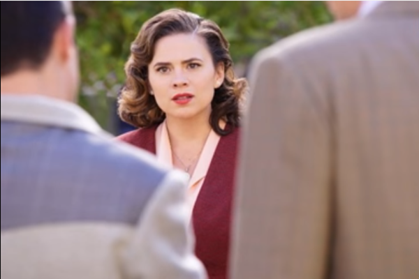 "Hayley Atwell as Peggy Carter in ABC's ""Agent Carter"""