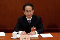 Ling Jihua attends the plenary session of the Chinese People's Political Consultative Conference at the Great Hall of the People on March 8, 2013 in Beijing, China.
