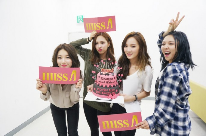 Miss A, stylized as miss A, is a South Korean-Chinese girl group based in South Korea formed by JYP Entertainment in 2010.
