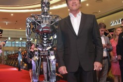 Arnold Schwarzenegger attends the Seoul Premiere of
