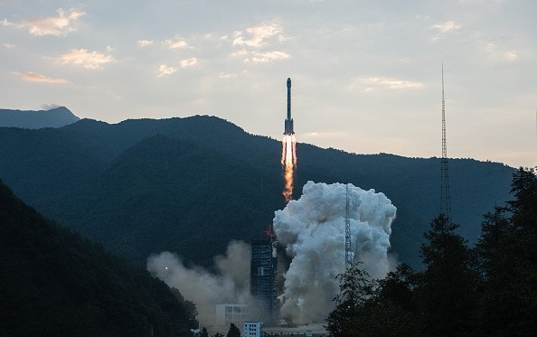 A Beidou satellite was launched in Sichuan Province. China plans to launch 30 more satellites in the coming years.