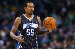 Orlando Magic point guard Brandon Jennings.