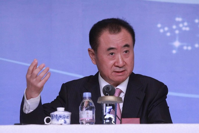 Wanda's Wang Jianlin unveils first of 15 theme parks that could compete with Shanghai Disneyland.
