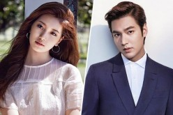 South Korean actor Lee Min Ho and miss A's Suzy.