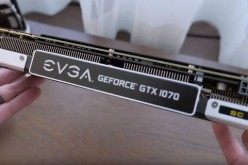 The EVGA GTX 1070 SuperClocked version is shown at Computex 2016