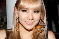 CL was at the Jeremy Scott Fall 2013 fashion week.