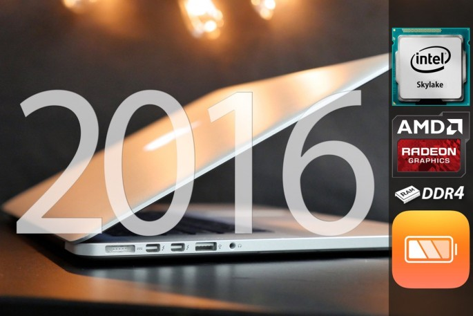 MacBook Pro 2016 is rumored to include an OLED touch panel.
