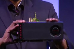 AMD reveals the Radeon RX 480 Polaris 10 card to the public.