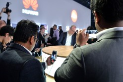 The Huawei P9 global launch at Battersea Evolution on April 6, 2016 in London, England.