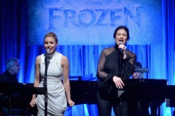 Elsa (Idina Menzel) and Anna (Kristen Bell) are back in the