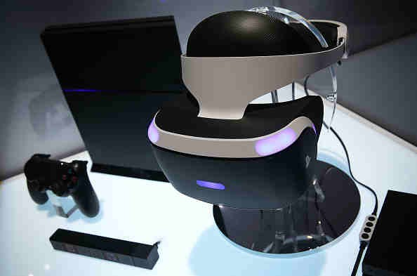 The Sony Playstation VR viewer with the Playstation 4 System was unveiled at CES 2016 in Mandalay Convention Center last January 5, 2016.