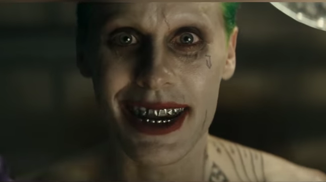 "Jared Leto plays Joker in ""Suicide Squad"" which will be in theaters from Aug. 5."